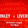 Burnley v Liverpool LIVE