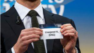 LFC UEFA Draw