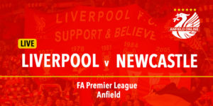 LIVE Liverpool v Newcastle