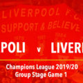 LIVE Napoli v Liverpool