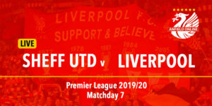 LIVE Sheffield United v Liverpool