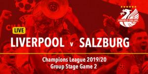 LIVE Liverpool v FC Salzburg