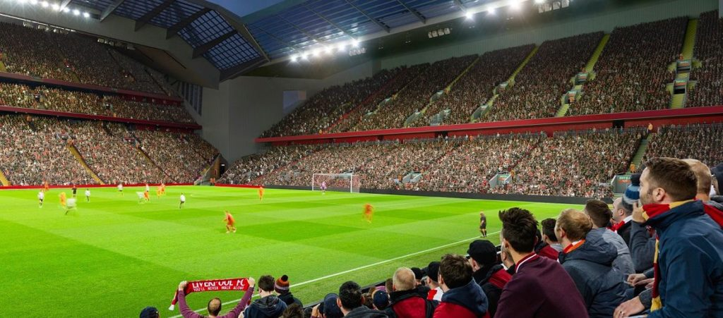 New Anfield Road end expansion