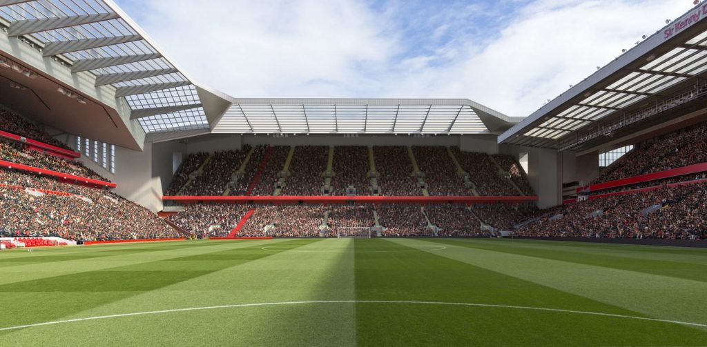 New Anfield Road from Kop