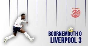 Bournemouth 0-3 LFC