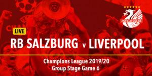 LIVE: Salzburg v Liverpool