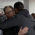 John Henry hugs Jurgen Klopp