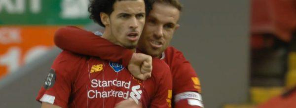 Curtis Jones scores first Premier League goal