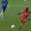 Sadio Mane scores v Chelsea