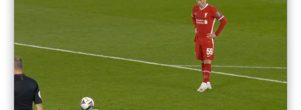 Harry Wilson prepares to take a penalty for Liverpool