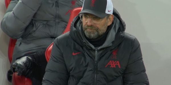 Klopp watches on as the reds are defeated by Atalanta