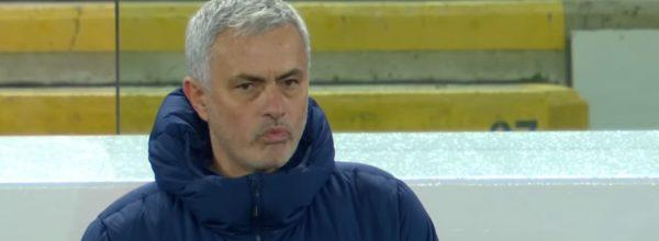 Sad Mourinho