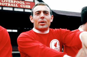 Ian St John at LFC in the 1960's