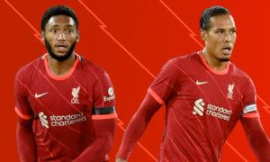 Virgil van Dijk and Joe Gomez return for Liverpool