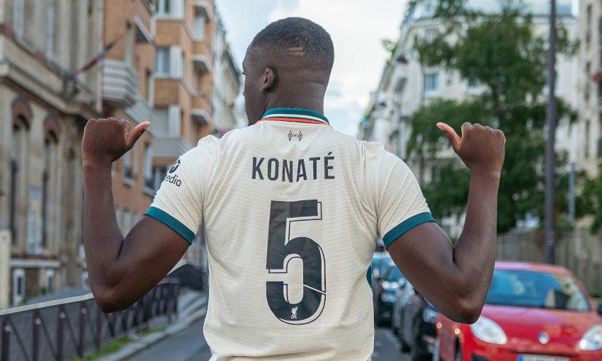 Konate gets number 5 shirt at Liverpool