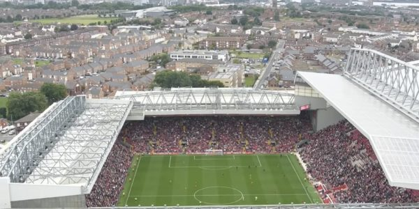 Anfield during LFC - Crystal Palace