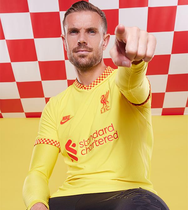 New LFC Third Yellow Shirt 21/22 - Henderson