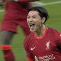 Takumi Minamino scores two goals against Norwich City for Liverpool