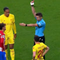 Liverpool beat Atletico Madrid - Antoine Griezemann sent off